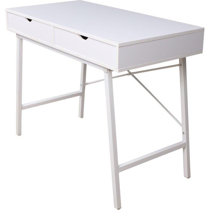 Стол письменный Agat белого цвета