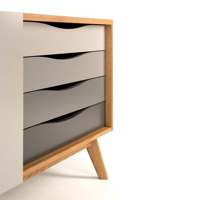 Комод Авон стандарт с ящиками в серых оттенках