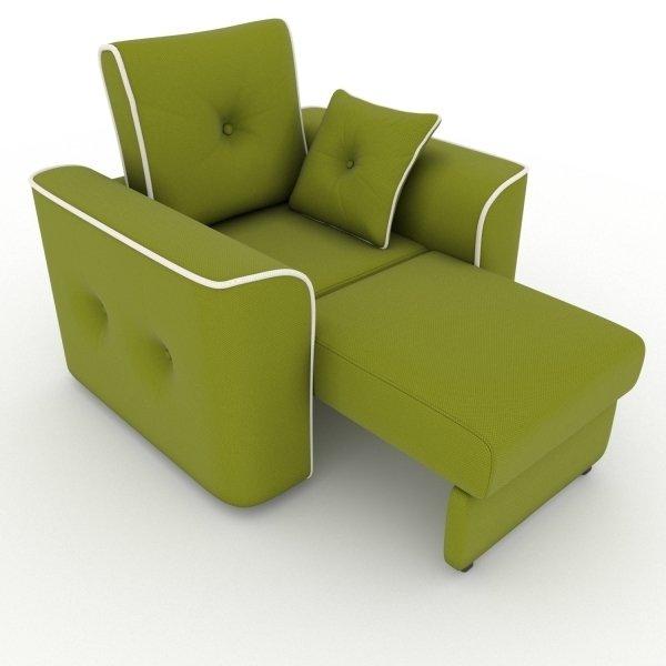 Кресло-кровать Navrik зеленого цвета