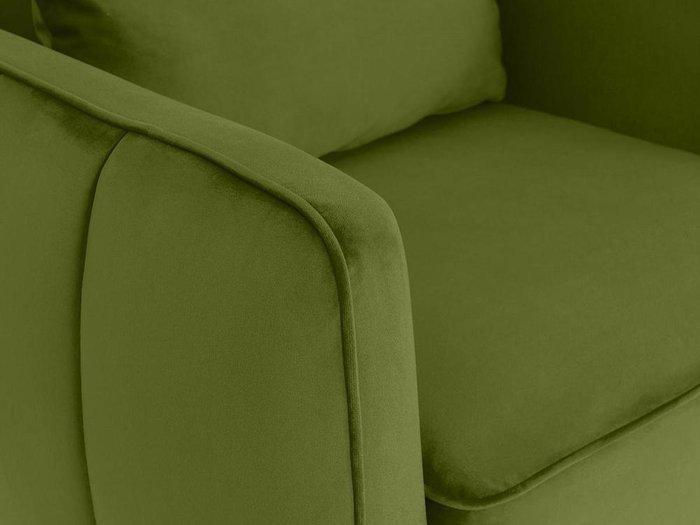 Кресло Amsterdam зеленого цвета