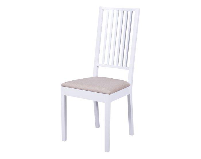 Стул Родос бело-бежевого цвета