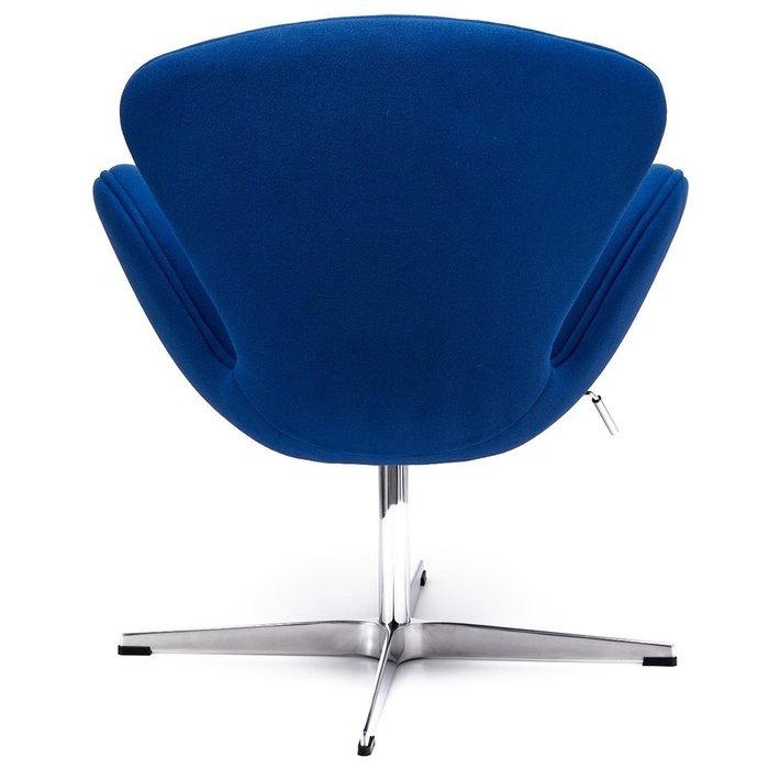 Кресло Swan Chair синего цвета