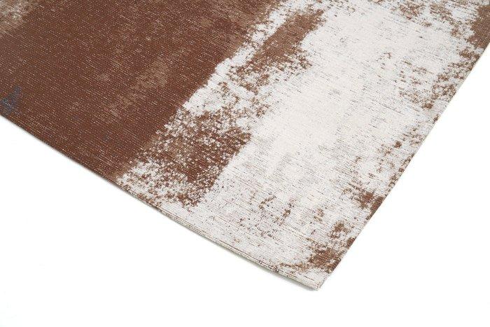 Ковер Rust Grey 200х300 бело-коричневого цвета