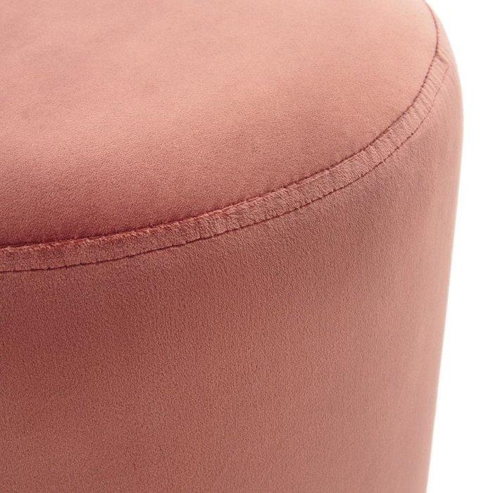 Пуф Luxore розового цвета