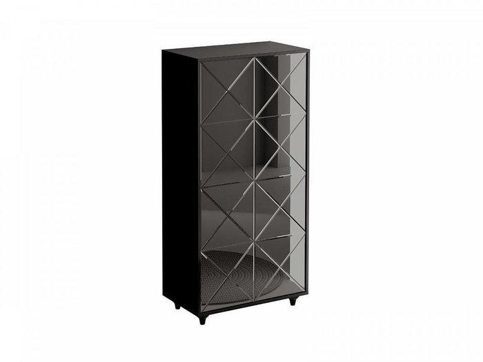 Шкаф двухдверный Cloud черного цвета