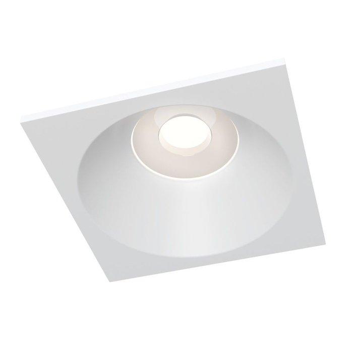 Встраиваемый светильник Zoom белого цвета