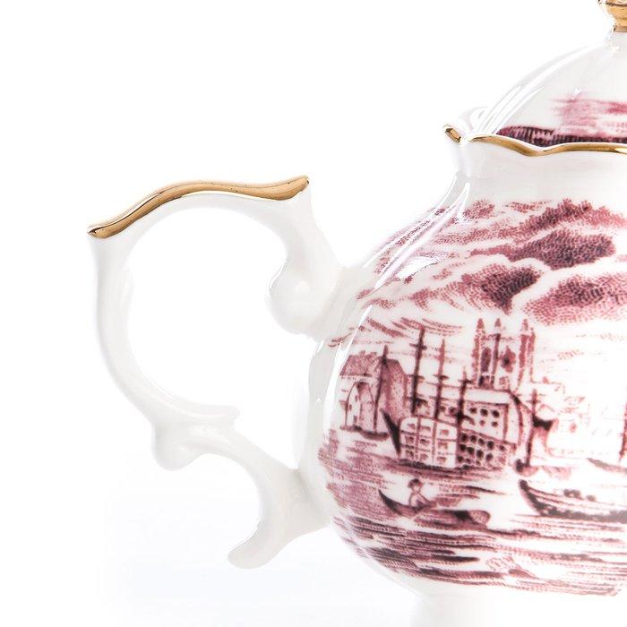 Чайник SelettI Hybrid из фарфора