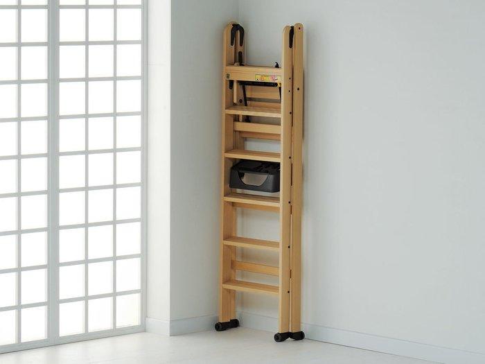 Лестница-стремянка на шесть ступеней Lascala 6 canaletto цвет каналетто