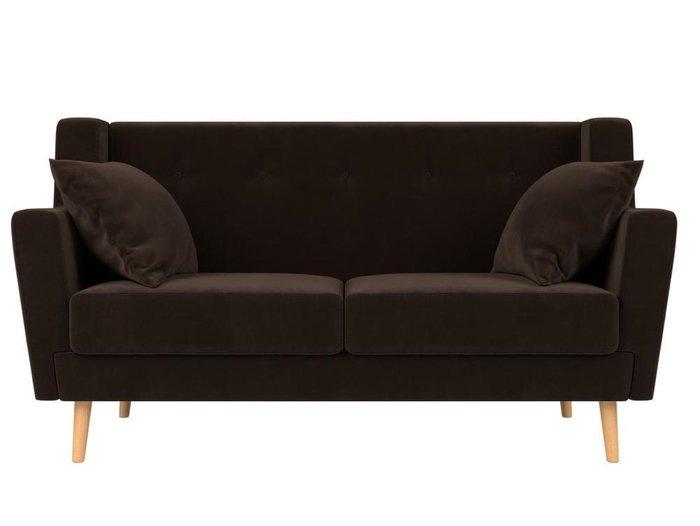 Диван Брайтон коричневого цвета