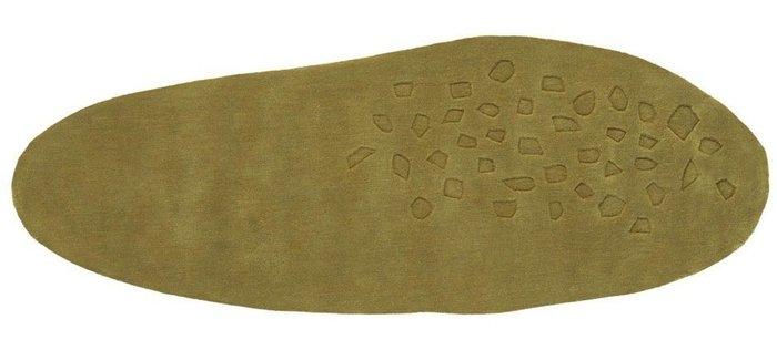 Ковер Earth оливкового цвета 140x170