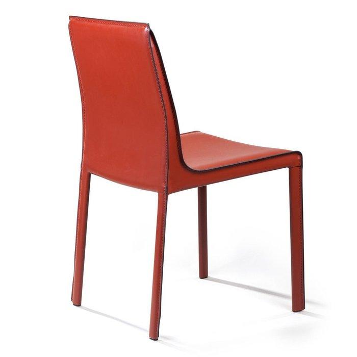 Стул Barrie цвета ретро красный