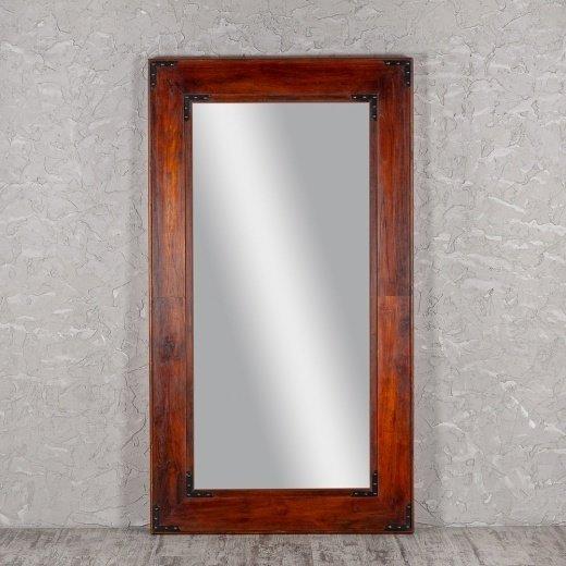 Зеркало напольное в раме из  дерева