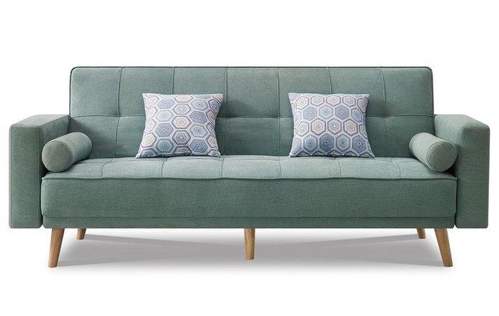 Диван-кровать Scandinavia бирюзового цвета