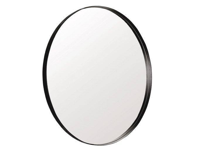Настенное зеркало Гала диаметр 90 в металлической раме