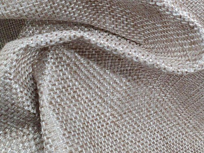Угловой диван-кровать Даллас бежевого цвета (ткань\экокожа)