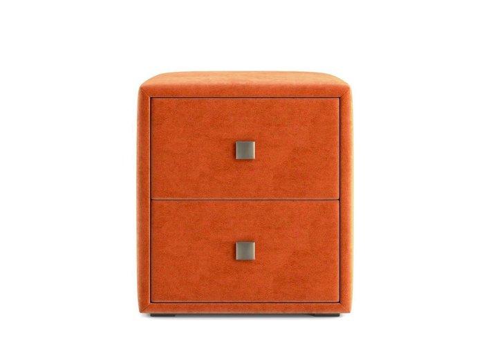 Тумбочка Агат оранжевого цвета