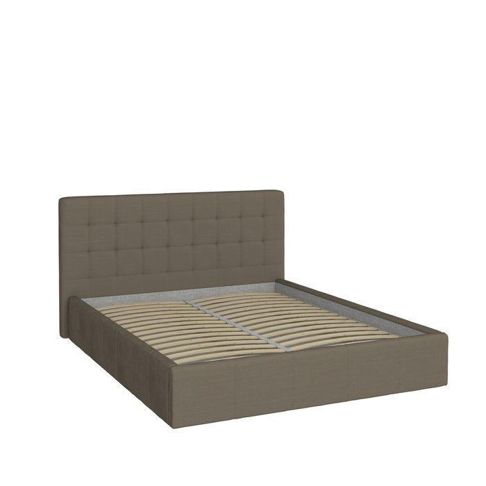 Кровать Инуа 120х200 черного цвета с подъемным механизмом