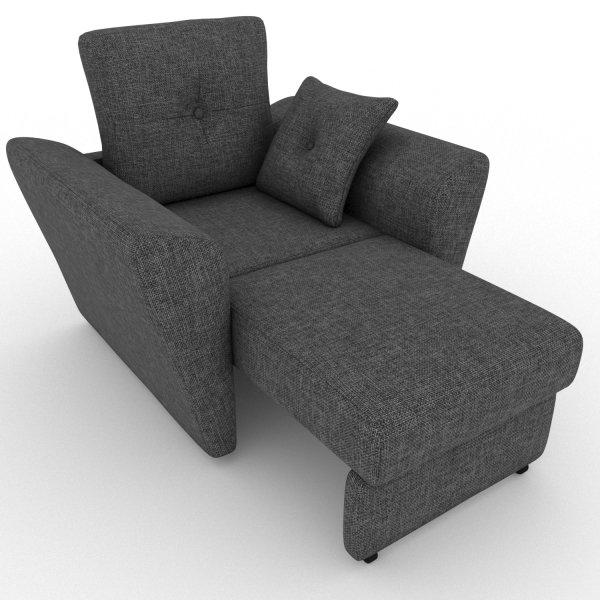 Кресло-кровать Neapol темно-серого цвета