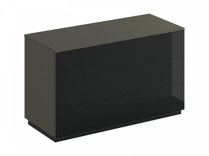 Комод Roomy с черным фасадом