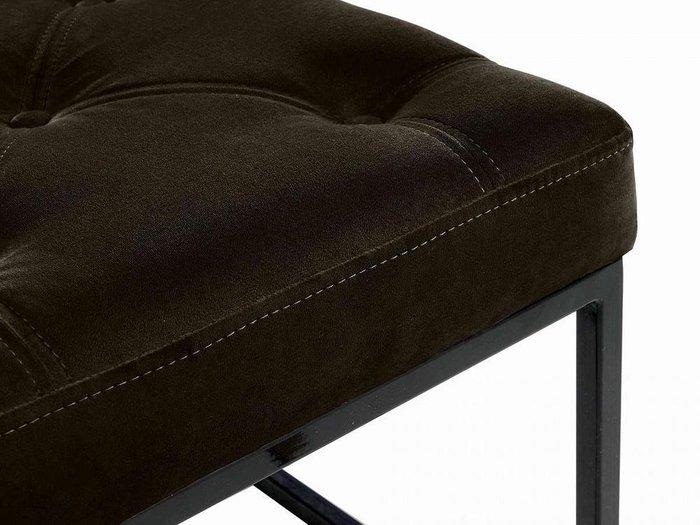 Банкетка Loft темно-коричневого цвета