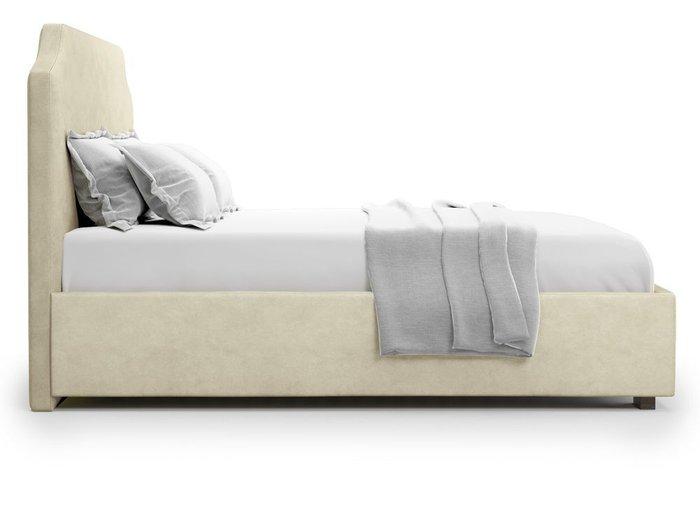 Кровать Izeo с подъемным механизмом 180х200 бежевого цвета
