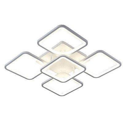 Потолочная люстра Omega из металла и пластика