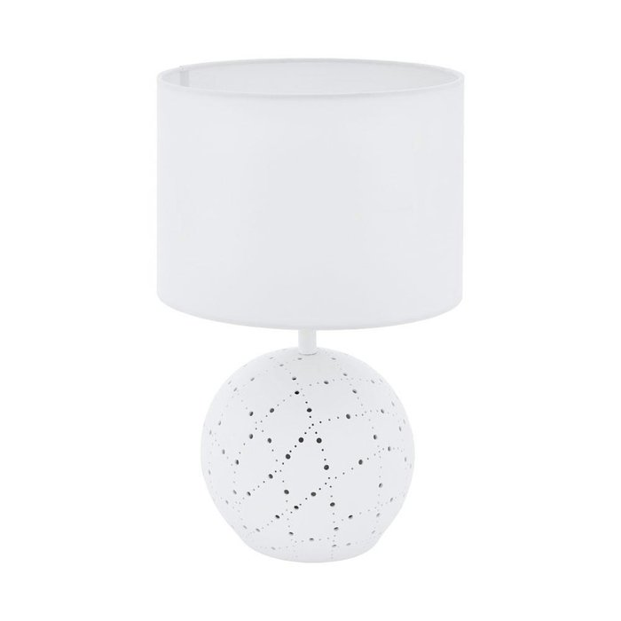 Настольная лампа Montalbano белого цвета