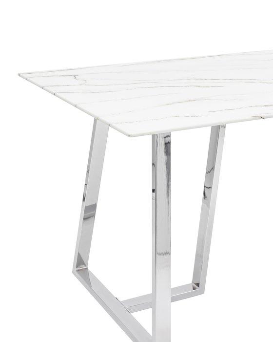 Стол обеденный Даллас с белой столешницей