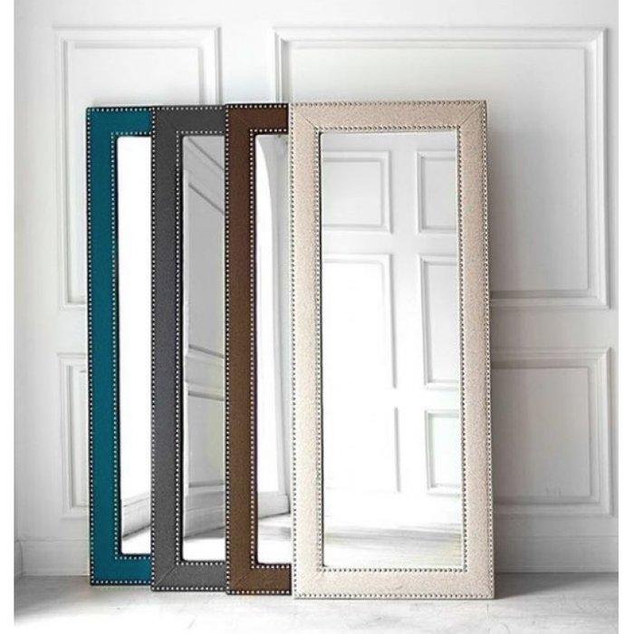 Зеркало Фокстрот коричневого цвета