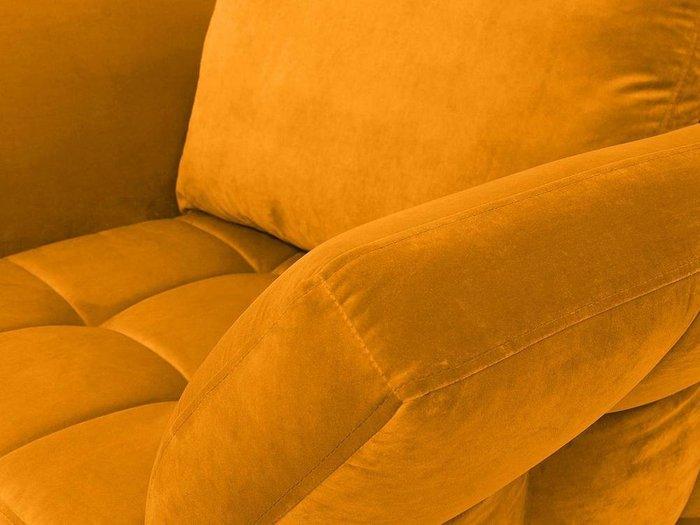 Кресло Wing золотого цвета
