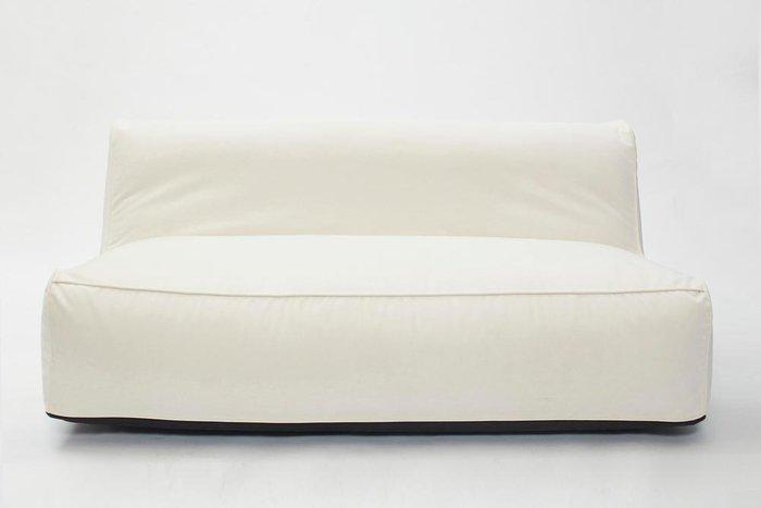 Диван бескаркасный Longer со съемным чехлом из мебельного велюра
