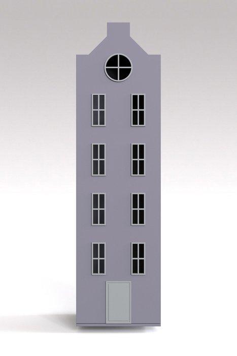 Шкаф-домик Вильнюс Maxi лавандового цвета