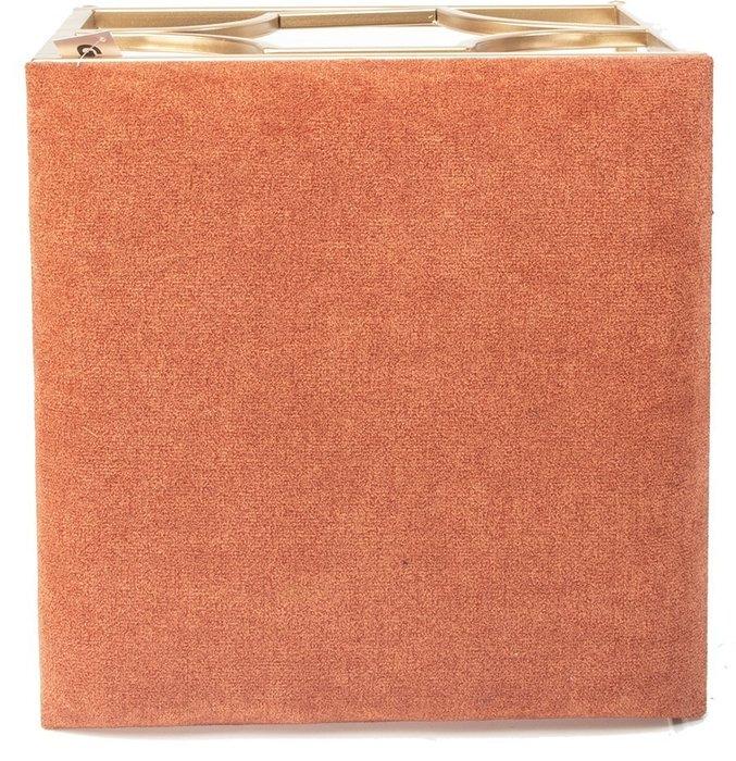 Пуф оранжевого цвета