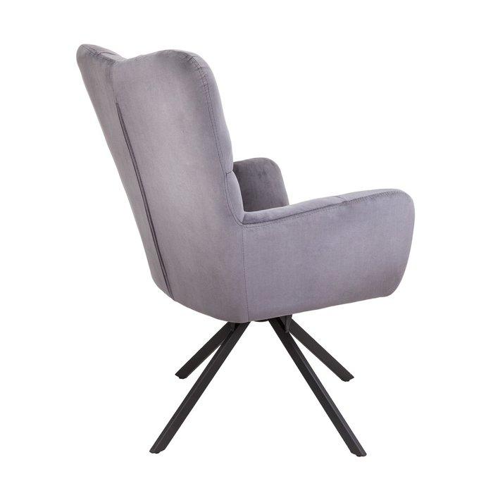 Поворотное кресло Colorado темно-серого цвета