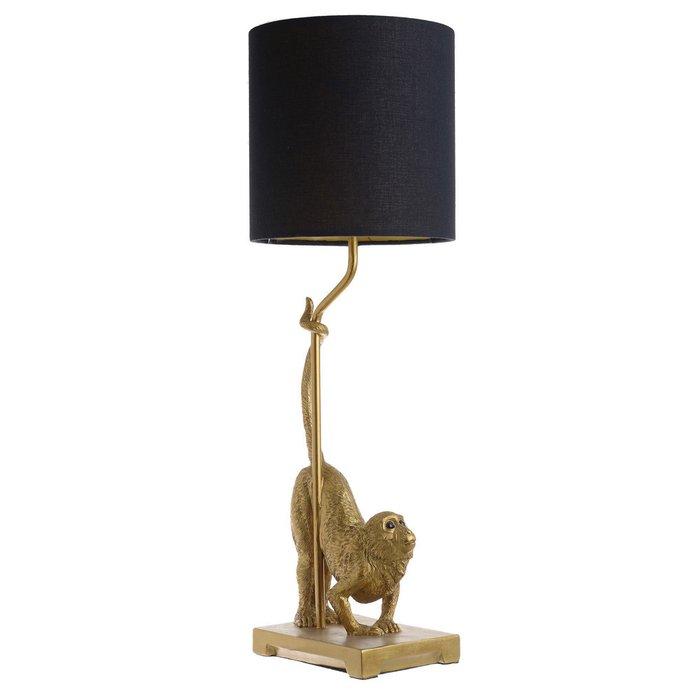 Лампа настольная Zoo с черным абажуром