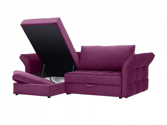 Угловой диван-кровать Wing сиреневого цвета