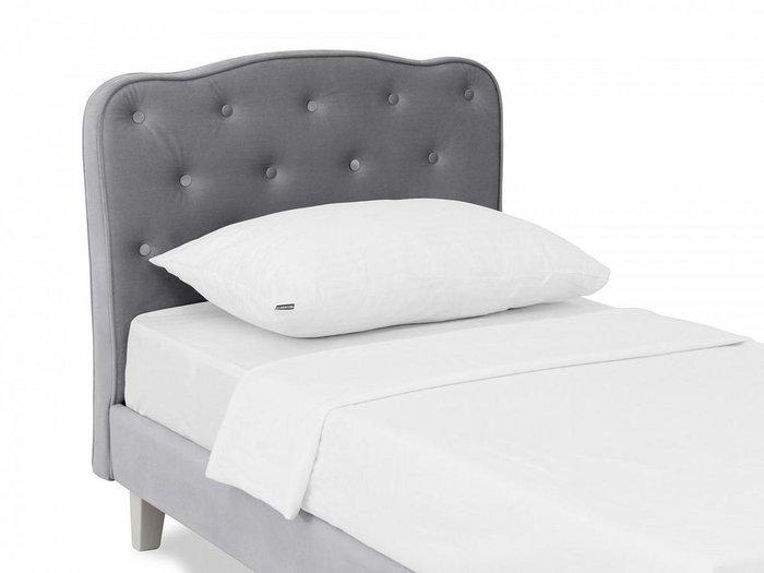 Кровать Candy 80х160 серого цвета
