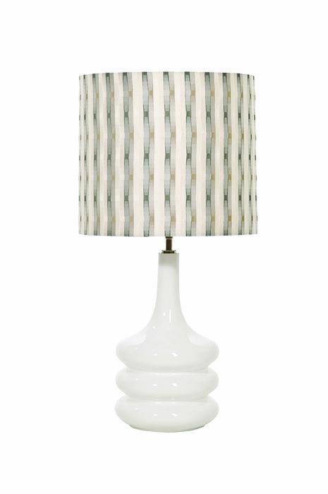 Настольная лампа (основание) Elstead Interior  POP белая керамика