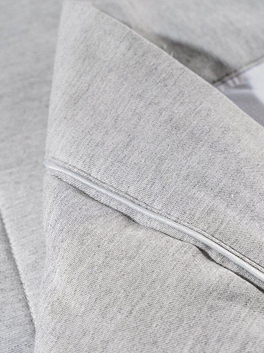 Стеганное покрывало Vespa 230х250 серого цвета