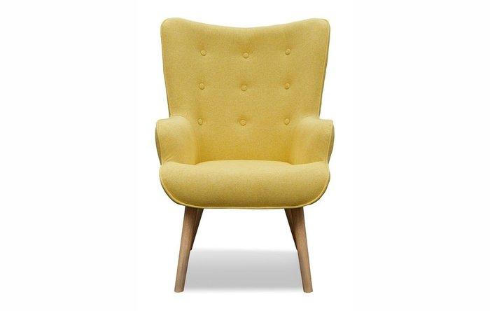 Кресло Hygge желтого цвета