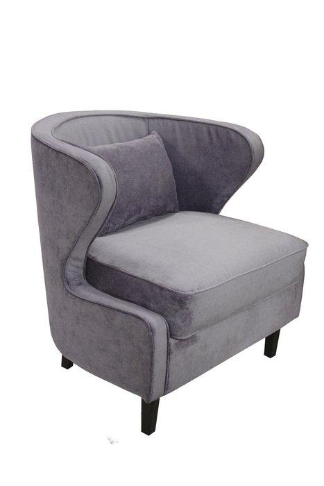Кресло Видия серого цвета