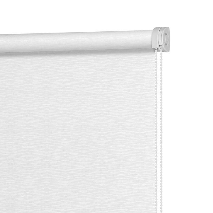 Рулонная штора Миниролл Маринела молочного цвета 90x160