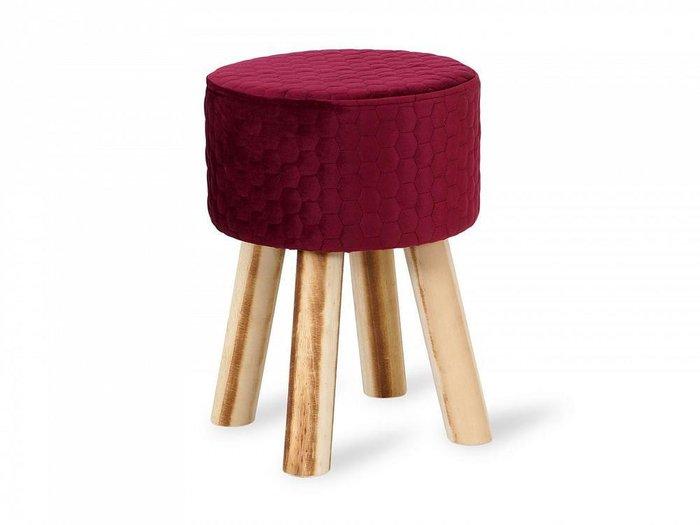 Пуфик Praim бордового цвета