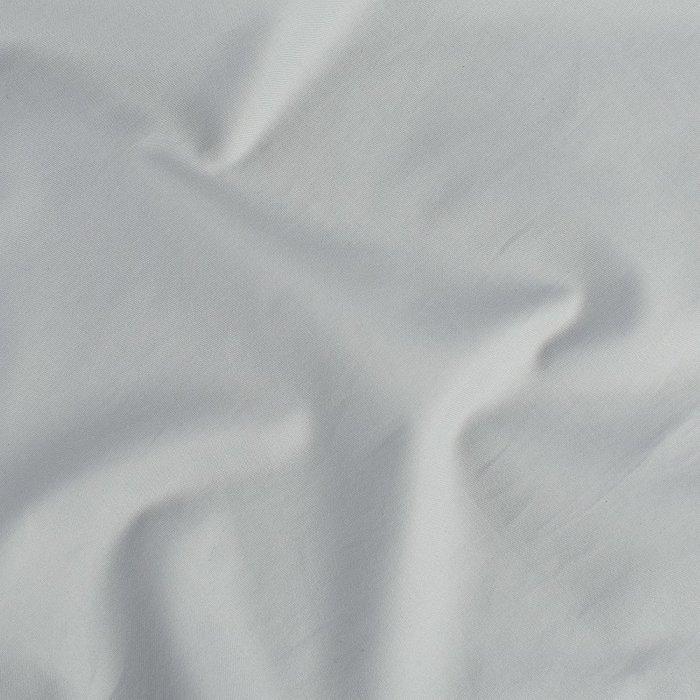 Простыня из сатина светло-серого цвета 180х270