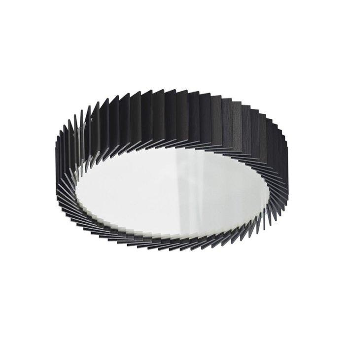 Потолочный светильник Rotor из дуба черного цвета M