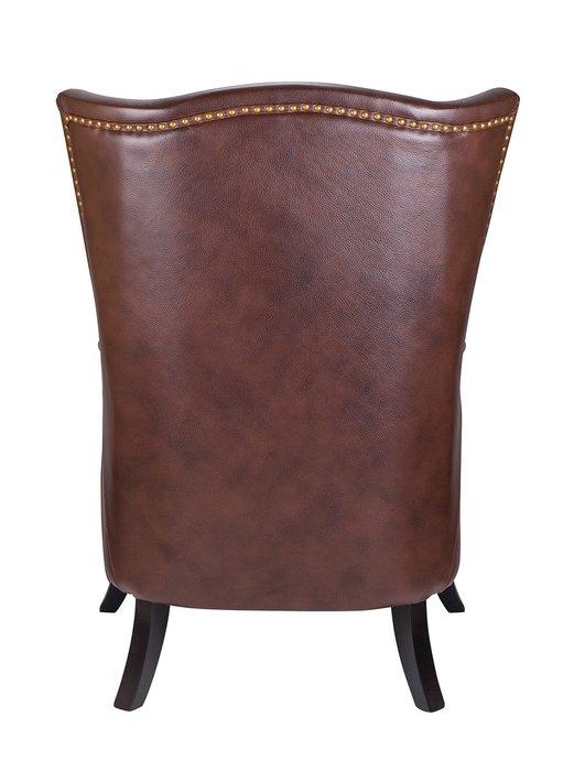 Дизайнерское кресло Chester leather коричневого цвета