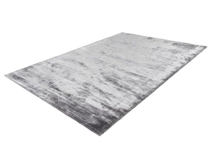 Однотонный ковер Bamboo серый 120х170