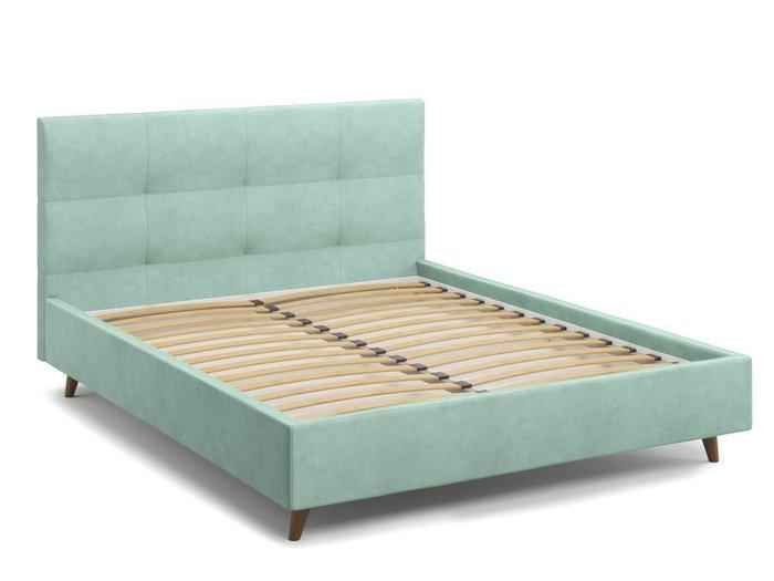 Кровать Garda 160х200 мятного цвета