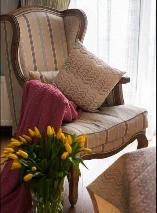 Кресло Сезарина зеленого цвета