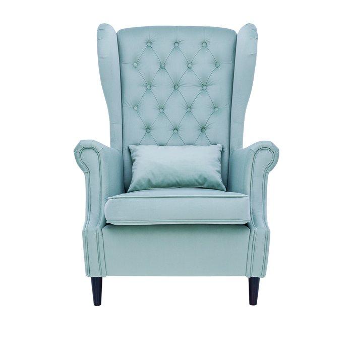 Кресло Винтаж бирюзового цвета